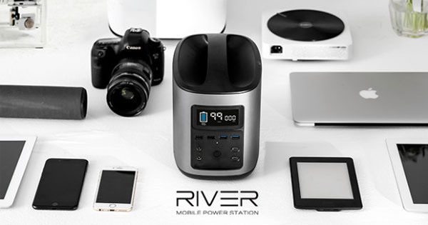 RIVER power bank ยักษ์
