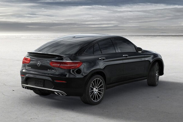 Mercedes-Benz GLC Coupé ปี 2017