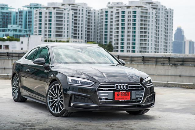 Audi A5 Coupe ปี 2017