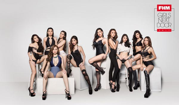 FHM GIRLS NEXT DOOR 2017