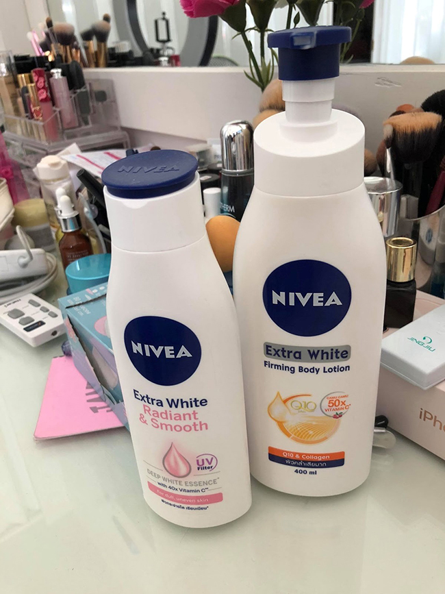 The best skin whitening by Nivea