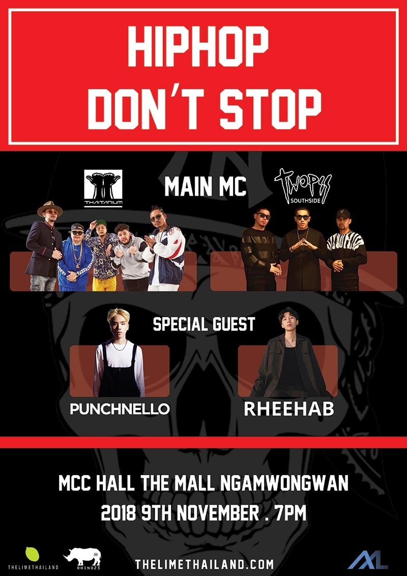 2018 Hip Hop Dont Stop in Bangkok