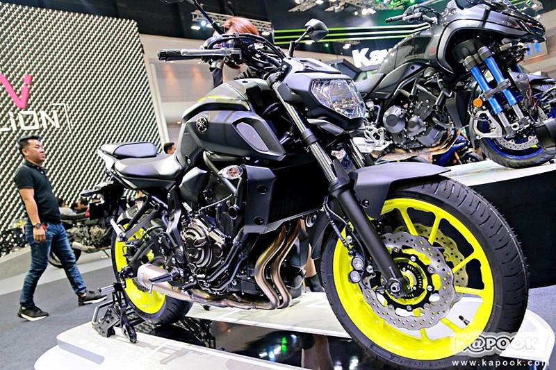 ยอดจองมอเตอร์ไซค์ Motor Show 2018