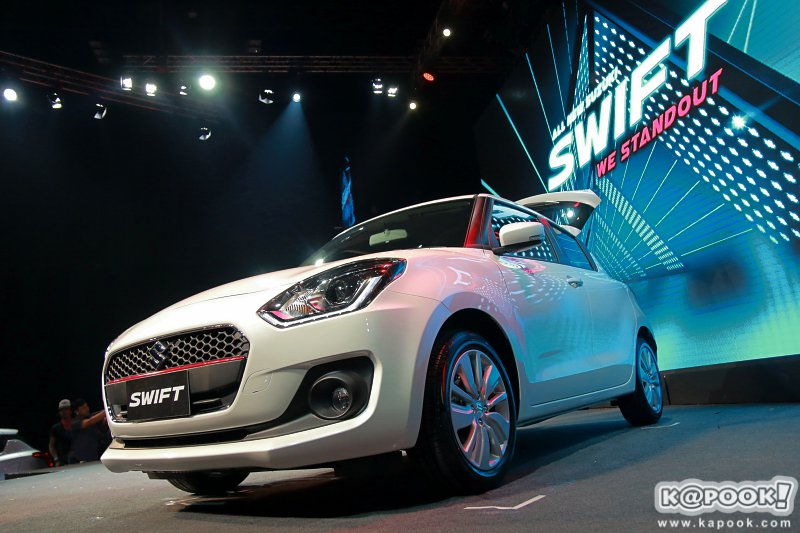 All New Suzuki Swift 2018