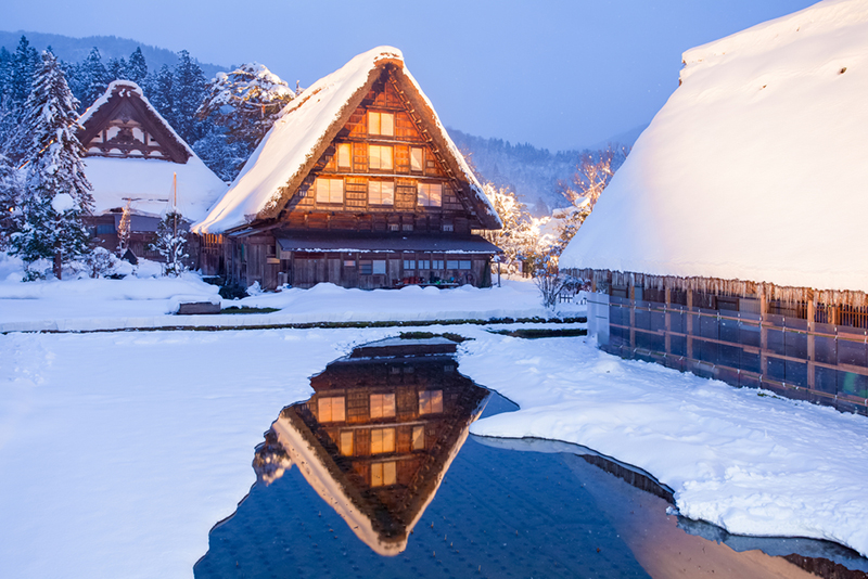 Shirakawa-go Light Up 2020