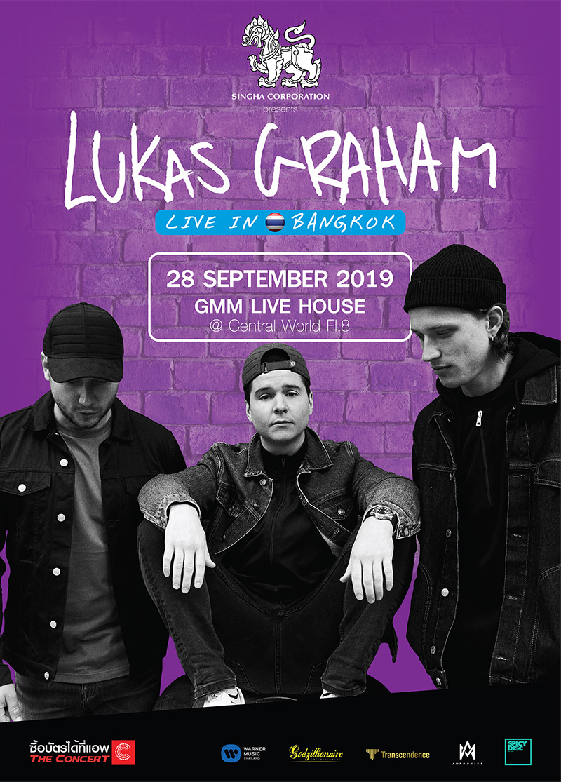 Lukas Graham Live in Bangkok 2019