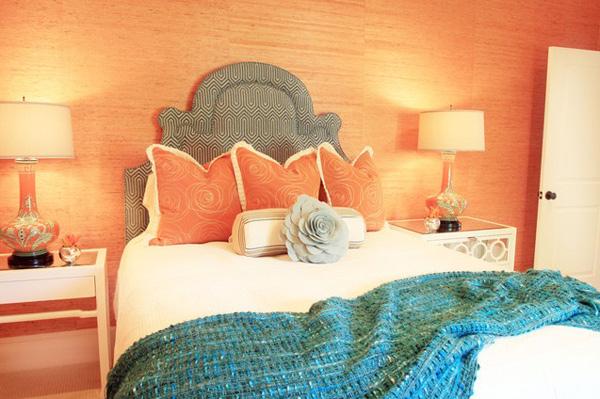 20 ห้องนอนสีส้ม แบบห้องนอน สุดจี๊ดจ๊าด
