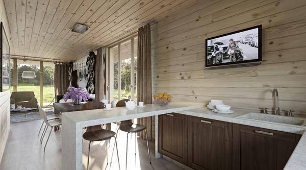 ห้องครัวไม้ ห้องครัวไทย ห้องครัวลายไม้