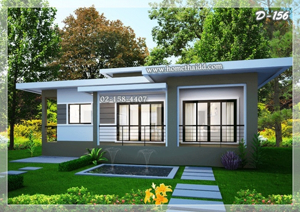 7 แบบบ้านชั้นเดียวโมเดิร์น สร้างบ้านแบบคนรุ่นใหม่