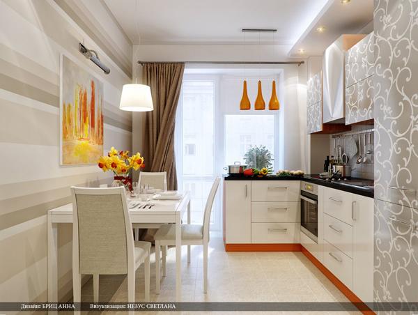 ห้องครัวสีขาว ห้องครัวสไตล์โมเดิร์น เอาใจคนอยู่คอนโด