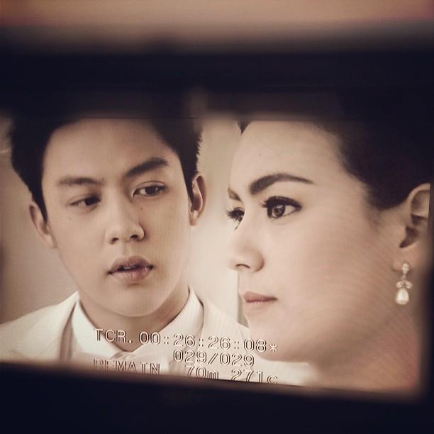 หมาก-คิม กับฉากแต่งงานสุดน่ารัก ในต้นรักริมรั้ว
