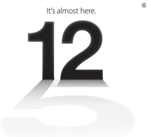 เปิดตัว iphone 5