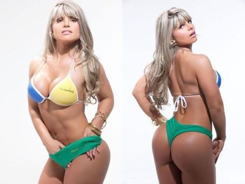 นางงามบั้นท้ายสวยแห่งบราซิล 2012