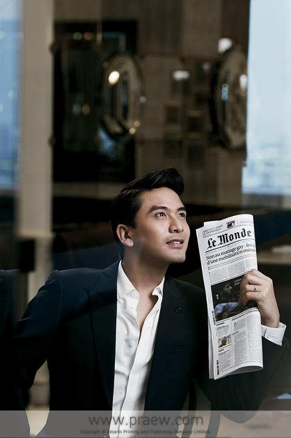 แฟชั่น ป๋อ-เอ๋ โชว์หวานปนเซ็กซี่ ทิ้งทวนก่อนคลอด ในนิตยสารแพรว