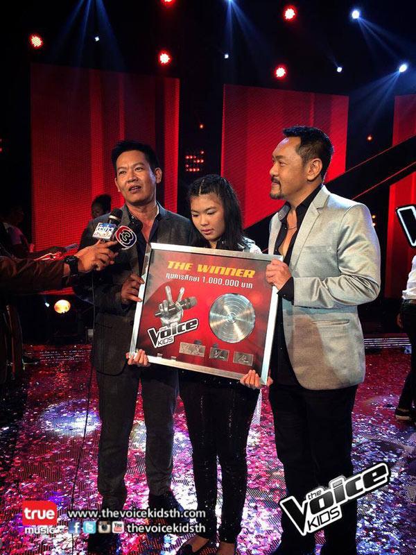 น้องบุ้งกี๋ พรสวรรค์ ญาณวโร ได้แชมป์ The Voice Kids 2