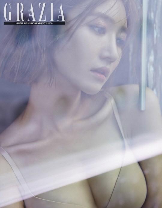 โกจุนฮี ดาราเกาหลี อวดหุ่นเซ็กซี่ ถ่ายแบบชุดชั้นใน