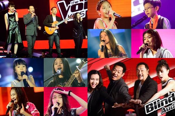 The Voice Kids ซีซั่น 2 วีคแรก เด็กโชว์พลังเสียงจัดเต็ม