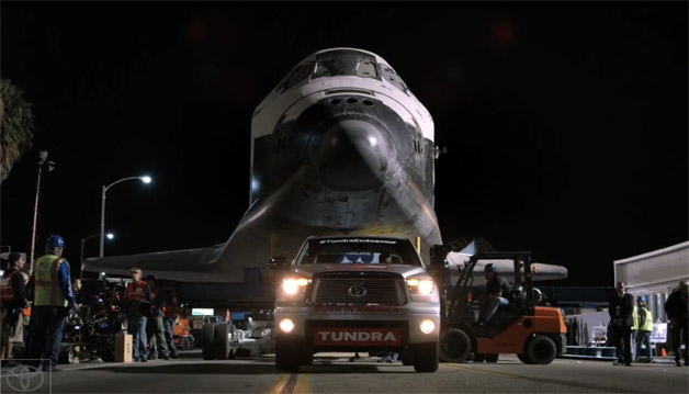 โตโยต้า ปล่อยคลิปโชว์พลังการขนส่ง ของ Toyota Tundra