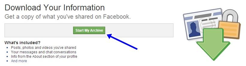 วิธีดาวน์โหลดข้อมูลบนเฟซบุ๊กของเราทั้งหมดมาเก็บไว้ในเครื่อง