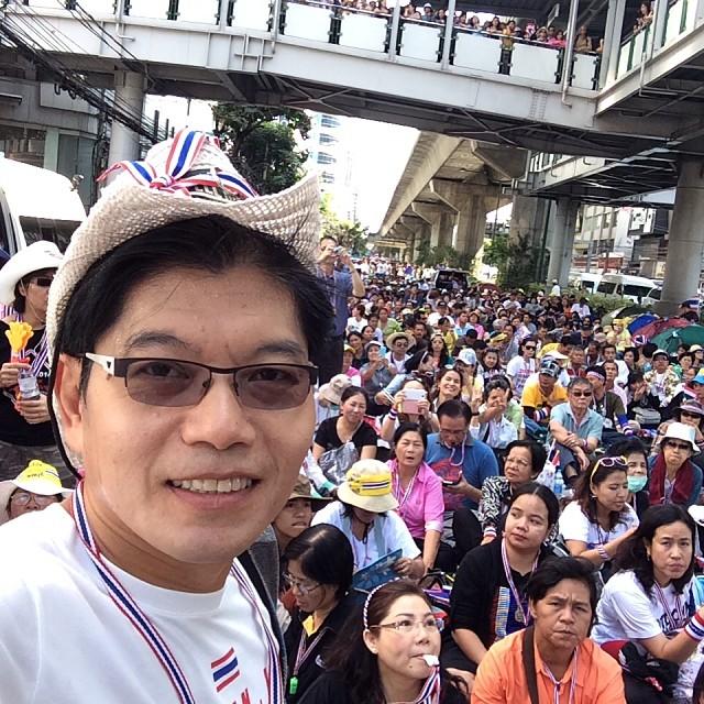 ดาราร่วมม็อบ กปปส. ปิดกรุงเทพฯ 13 มกราคม 2557