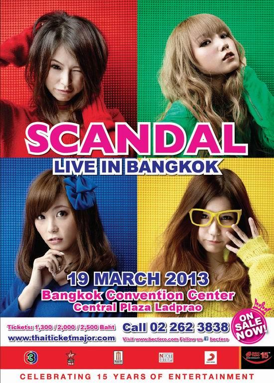 Scandal Live in Bangkok 2013