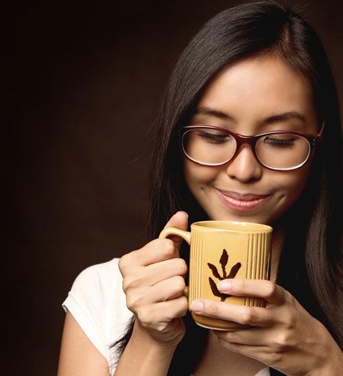 ดื่มกาแฟ