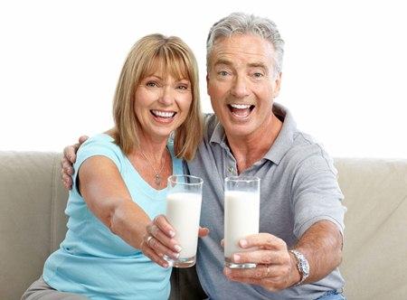 ดื่มนม