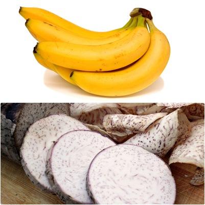 กล้วยกับเผือก
