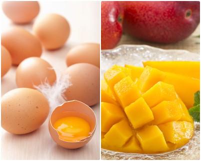 ไข่ มะม่วงสุก