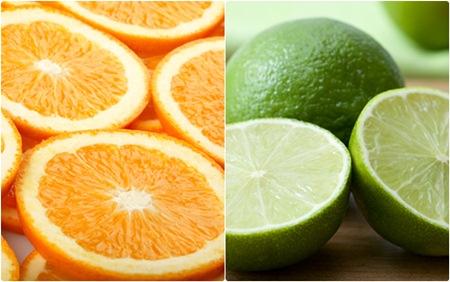 ส้มกับมะนาว