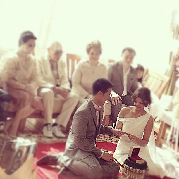 ชาย วิกกี้ แต่งงาน