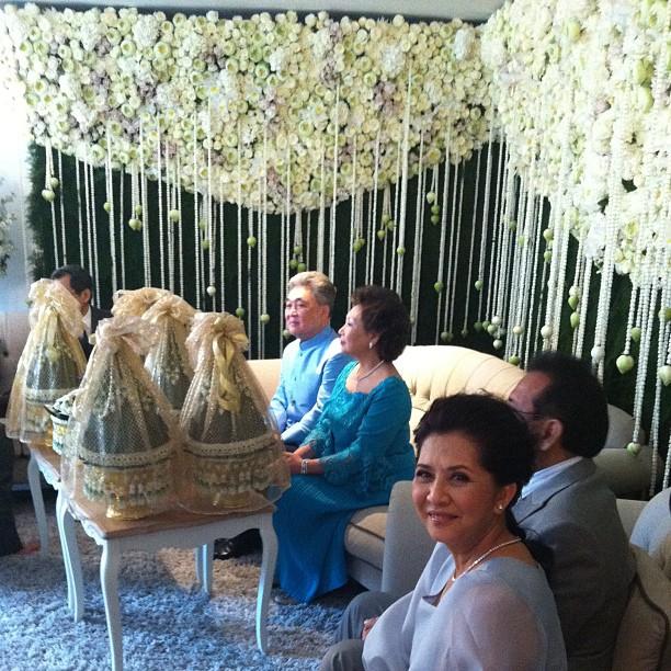 งานแต่งจ๋า ยศสินี ณ นคร  เปิ้ล ณัฐบูร