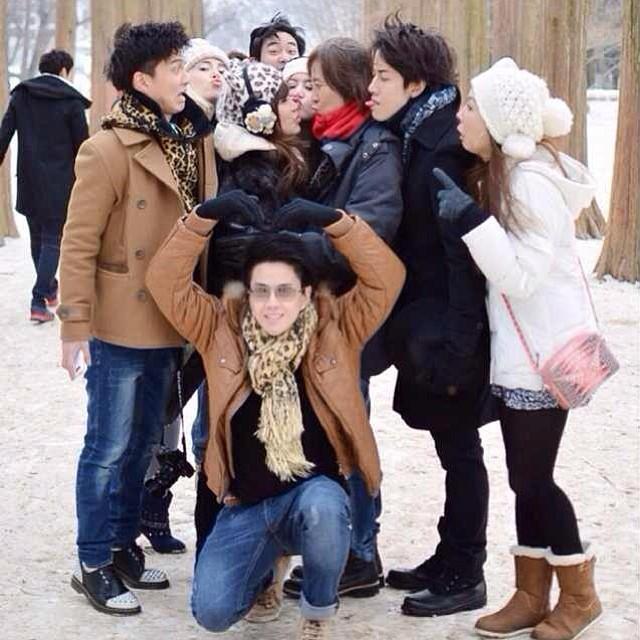 กอล์ฟ ไมค์ และครอบครัว ตะลุยเที่ยว เกาหลี รับ ปีใหม่