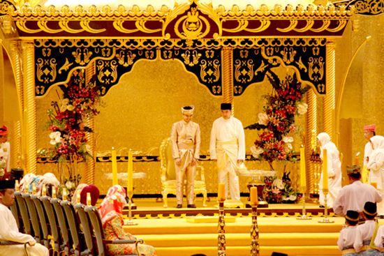 งานพิธีเสกสมรส พระธิดาสุลต่าน บรูไน