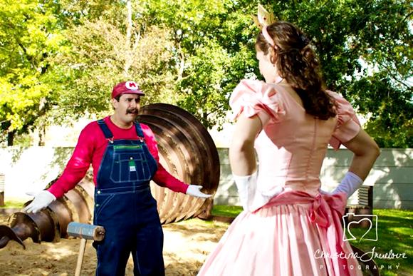 ภาพพรีเวดดิ้งตรีมมาริโอ้กับเจ้าหญิงพีช