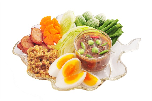 น้ำพริกลงเรือ อาหารไทยตำรับชาววังสุดอร่อย