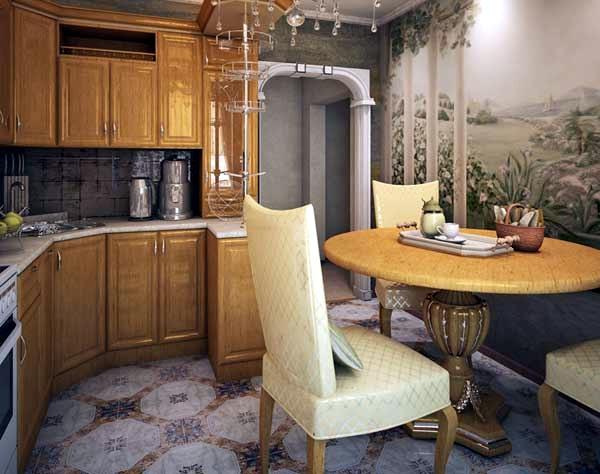 ตัวอย่างห้องครัวเล็ก ๆ แบบคอนเทมโพรารี