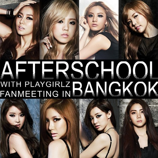 After School With Playgirlz Fanmeerting in Bangkok