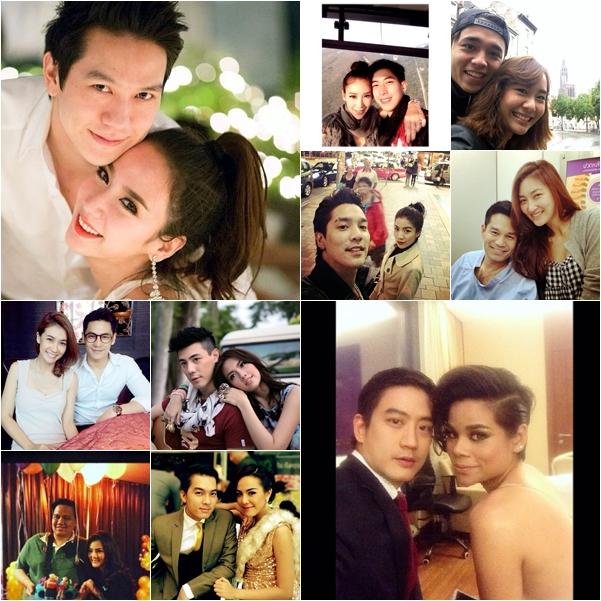 10 คู่รักคู่หวานวงการบันเทิง ประจำปี 2556