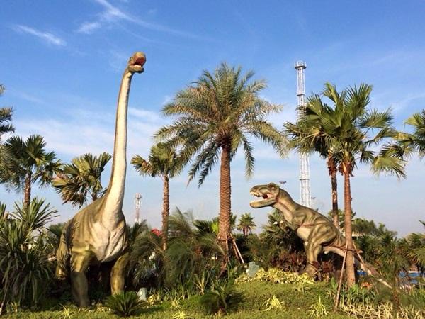เปิดแล้ว สวนน้ำ Jurassic Water Park ที่เที่ยวแห่งใหม่ในนครปฐม