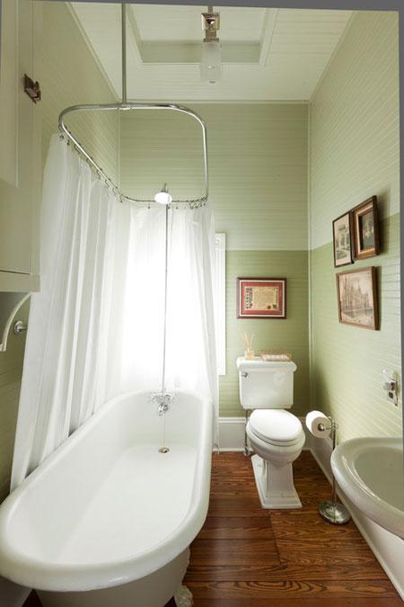 30 ห้องน้ำสีเขียวสวยหลากสไตล์