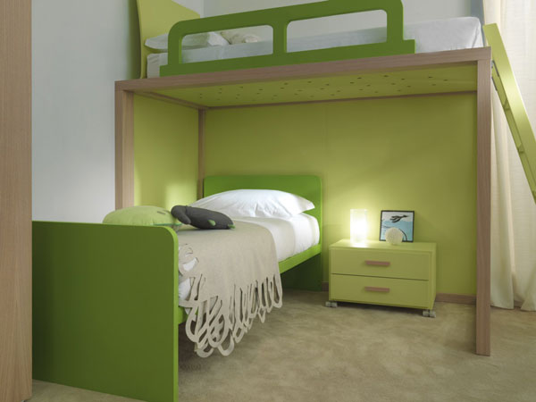 30 ตัวอย่างเตียงสองชั้นในฝันสำหรับเด็ก ๆ