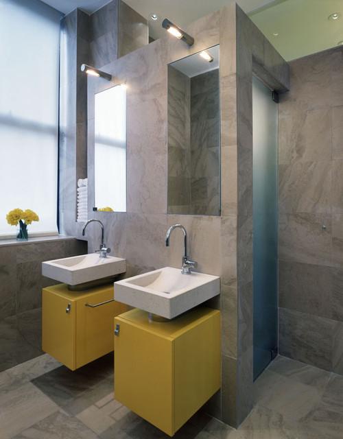 15 ห้องน้ำสีเทา สุดคลาสสิค