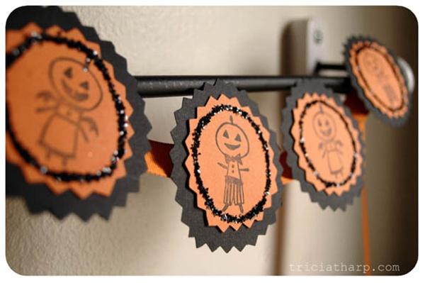 25 ไอเดีย DIY โมบายแต่งบ้านแบบผี ๆ รับฮาโลวีน