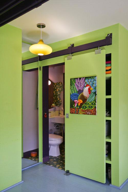 20 ประตูห้องน้ำบานเลื่อนช่วยประหยัดพื้นที่