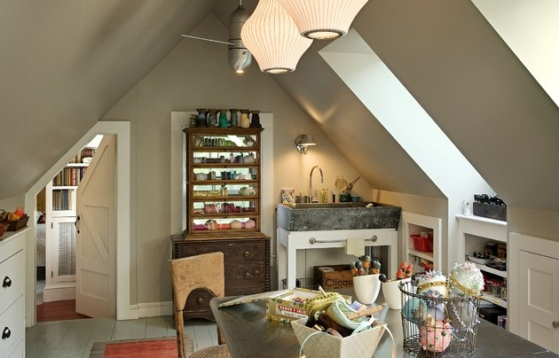 25 Craft Room น่ารัก ๆ สำหรับคนรักงานฝีมือ