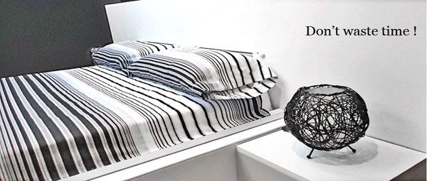 ไฮโซ!! เตียงอัจฉริยะจัดที่นอนเองได้ไม่ต้องเปลืองแรง