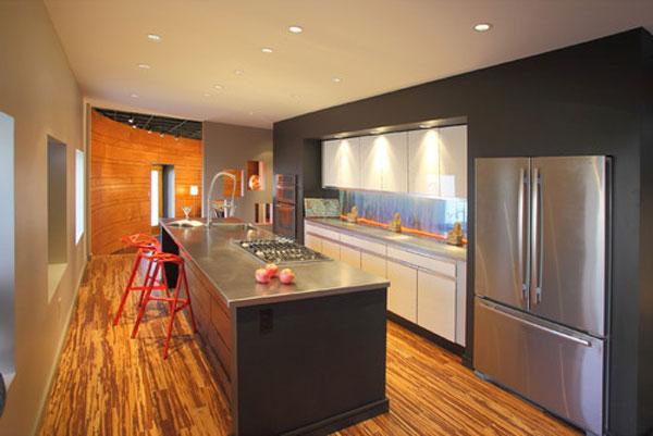 การเลือกวัสดุปูพื้นให้ห้องครัวดูสวยงาม