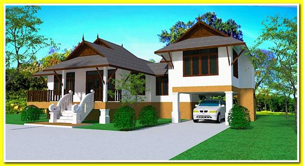 แบบบ้านทรงไทยสวยน่าอนุรักษ์