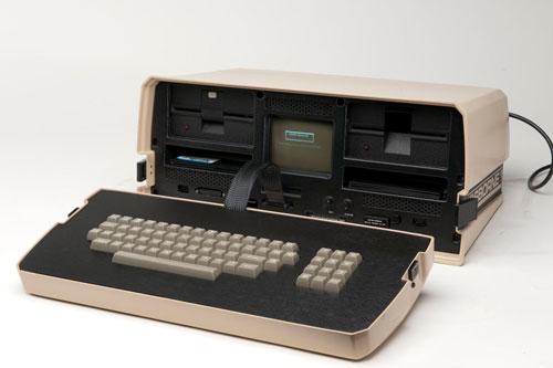 เผยโฉมแล็ปท็อปเครื่องแรกของโลก เครื่องหนา-หน้าจอเล็กจิ๋ว
